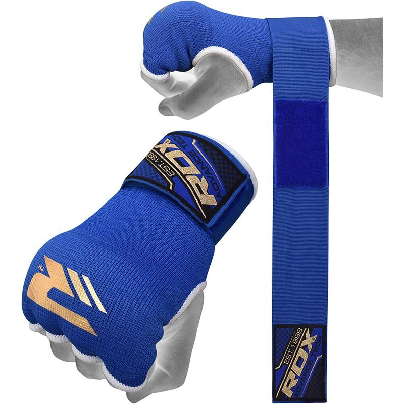 Бинты для бокса rdx ultra inner gloves wrist strap training hand wraps blue