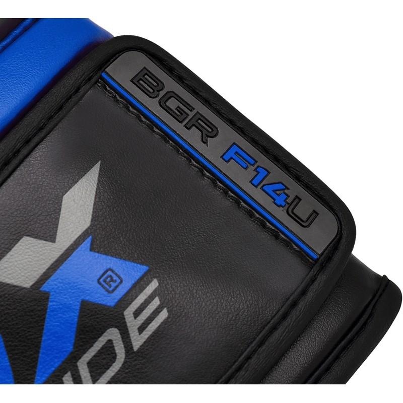 Боксерские перчатки Nemesis Training Boxing Gloves by RDX BGR-F14 BLUE