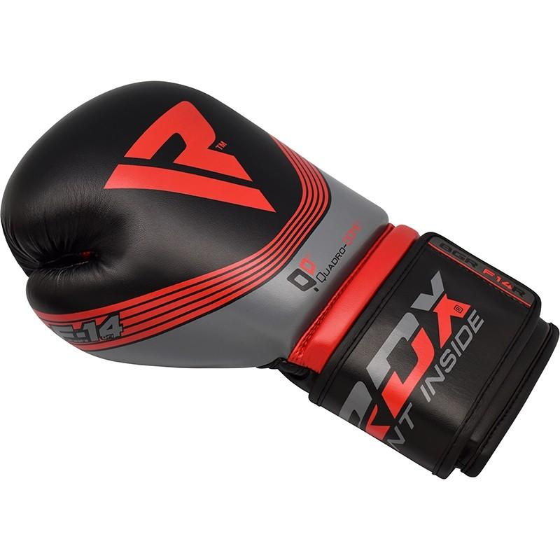 Боксерские перчатки Nemesis Training Boxing Gloves by RDX BGR-F14 RED