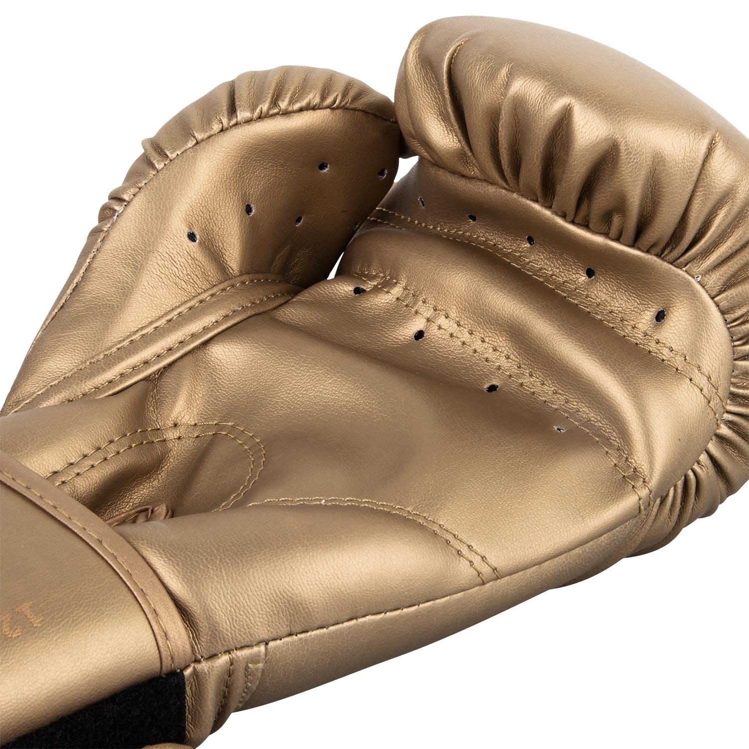 Боксерские перчатки Venum Contender Boxing Gloves - Gold/Gold