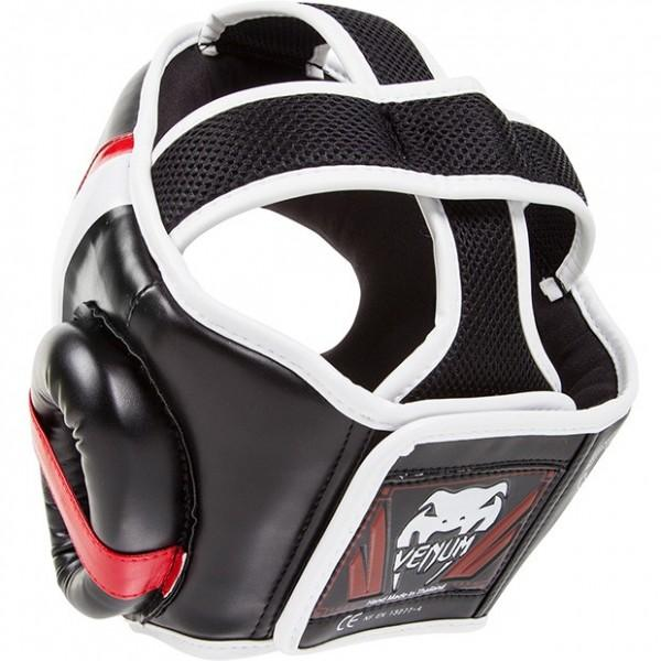 Шлем для бокса Venum Elite Headgear - Black/Red